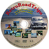 RetroRoadTrips PAL DVD