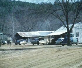 Arkansas dirt street