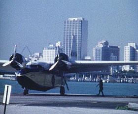 Board prop plane