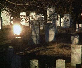 sun on graves