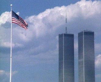 World Trade Center from Ellis Island