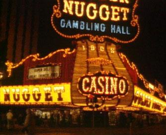 Las Vegas Golden Nugget neon