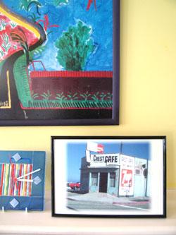 Crest cafe frame