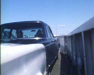 LI ferry black car