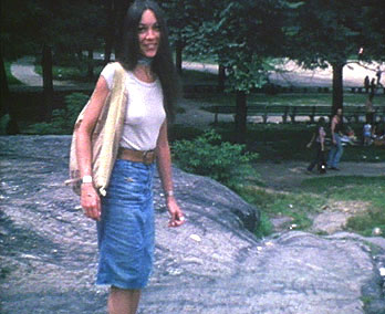 Sandy in Central Park