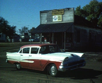 Culver, Ks - car & store