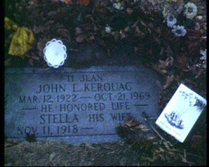 kerouac's grave